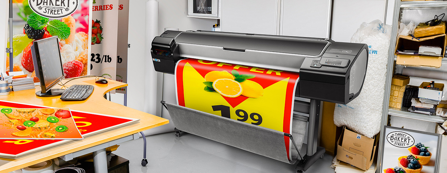 LARGE FORMAT COLOR PRINTING